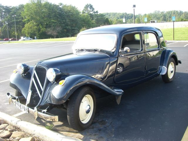 1955 Citroen Traction Avant 11b For Sale Citro N 11b 1955 For Sale In Crossville Tennessee