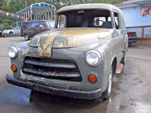 1955 Dodge Panel Truck All Mopar 383 Auto Floor Shift