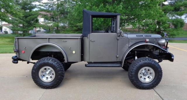 1955 Dodge Truck For Sale >> 1955 DODGE POWER WAGON FRAME OFF RESTORERD 4X4 ABSOLUTELY STUNNING W@W! for sale - Dodge Power ...