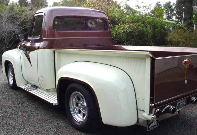1955 Custom Ford F100 : Ford f custom show truck street cruiser for sale