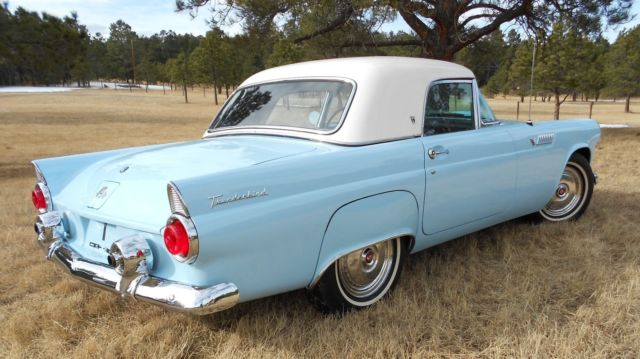 1955 ford thunderbird conv for sale ford thunderbird 1955 for sale in colorado springs. Black Bedroom Furniture Sets. Home Design Ideas