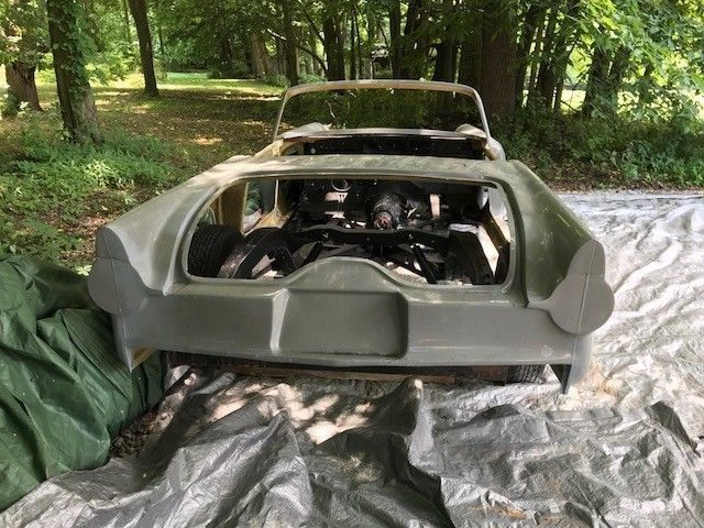 1955 Ford Thunderbird Project Car PA Title Fatman ...