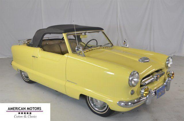 Gas Gauge Not Working >> 1955 Nash Metropolitan for sale - Nash Metropolitan ...