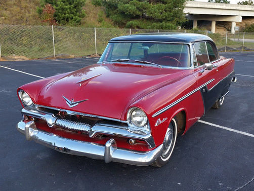 1955 Plymouth Belvedere 86628 Miles Red And Black For Sale