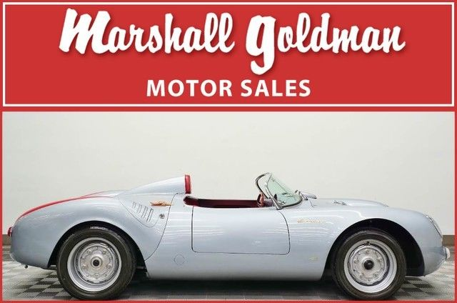 1955 porsche 550a spyder replica only 569 miles for sale for Marshall goldman motor cars