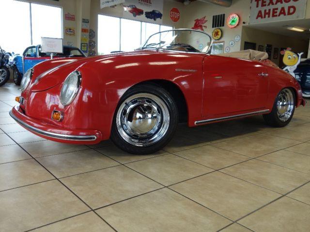 1955 Porsche Speedster Replica 1600cc 4 Speed Red Amp Tan 55