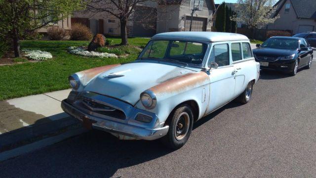 1955 Studebaker Conestoga Commander Wagon For Sale