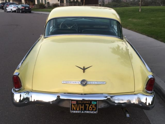 1955 studebaker president hardtop estate sale California car