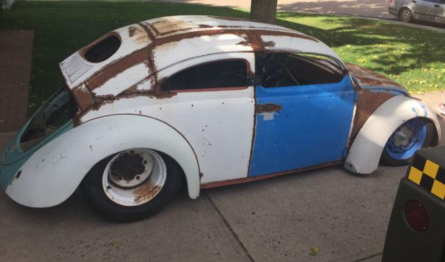1955 Vw Bug Oval Window Chop Top For Sale Volkswagen