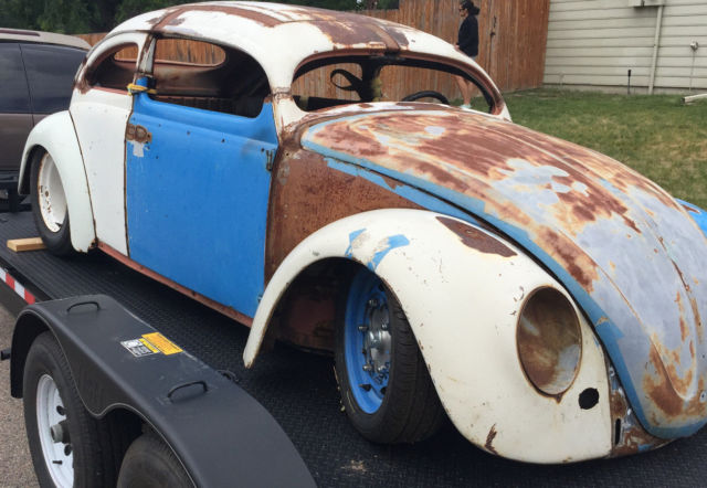 1955 vw bug oval window chop top for sale - Volkswagen Beetle - Classic 1955 for sale in Local ...