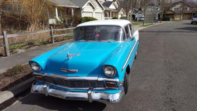 1956 4 door hardtop chevrolet bel air for sale for 1956 chevy belair 4 door hardtop for sale