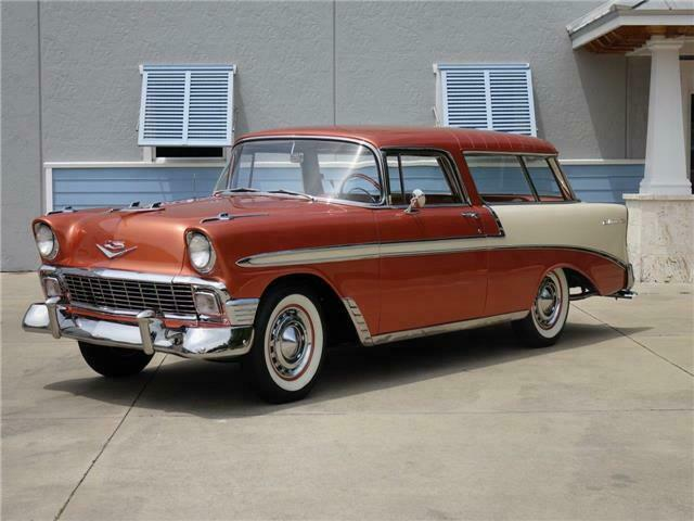 1956 Chevrolet Nomad Over The Top Multi Year Restoration