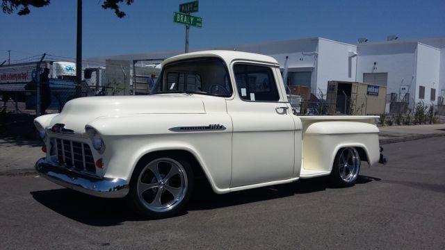 1956 Chevrolet Pickup TRUCK RATROD PATINA RESTORED 1955 ...