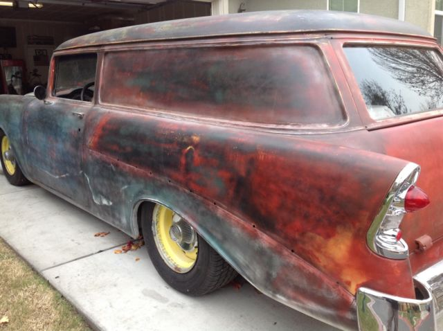 1956 Chevy 2 Door 210 Station Wagon Rat Rod Custom