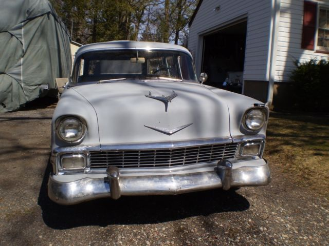 1956 CHEVY 210 WAGON BARN FIND for sale - Chevrolet Bel ...