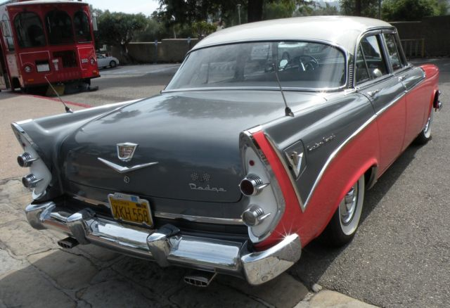 1956 dodge custom royal d 500 sedan early muscle car for 1956 dodge custom royal 4 door