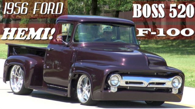 1956 ford f 100 fired up garage built famous tv truck for Garage ford st maximin