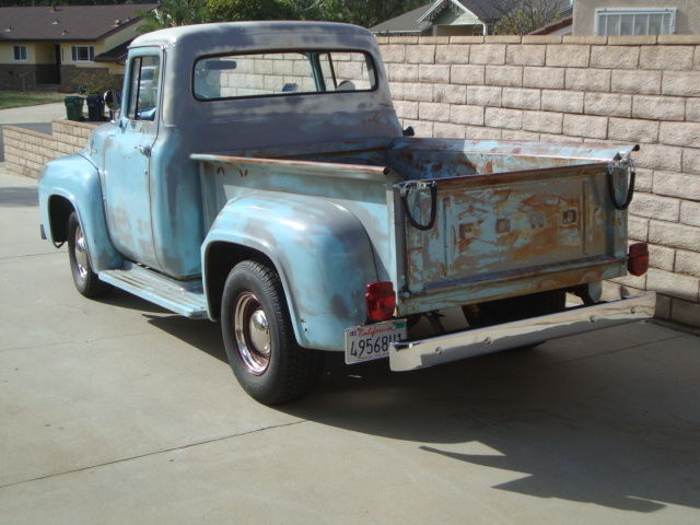 1956 Ford F 100 Short Bed Hot Rat Rod Shop Garage Barn