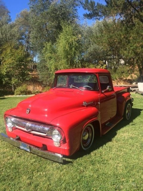 1956 Ford F 100 Used Automatic Pickup Truck F100 For Sale