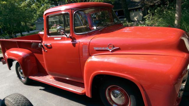 1956 ford f100 big back window pick up truck 312 for 1956 ford f100 big window truck for sale