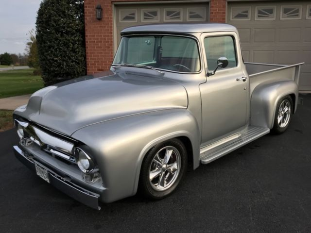 1956 ford f100 big back window pickup truck total frame off build for sale ford f 100 big back. Black Bedroom Furniture Sets. Home Design Ideas