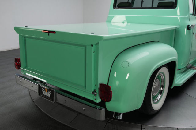 Ford F Pickup Truck Miles Seafoam Green Pickup Truck Liter Coyo on Ford 5 0 Coyote Engine