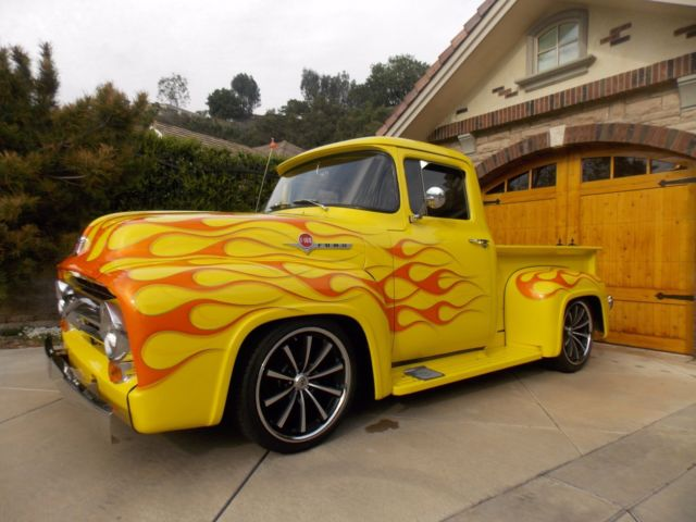 1956 ford f100 west coast truck 351 auto ps pb vintage a c for sale ford f 100 pickup truck. Black Bedroom Furniture Sets. Home Design Ideas