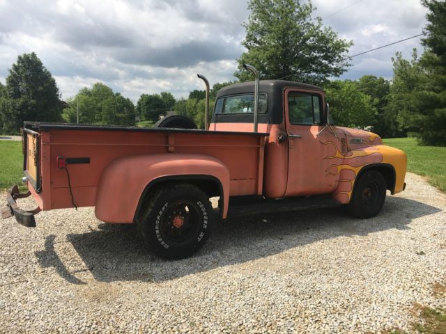 1956 ford f250 f 250 f100 f 100 pickup truck for sale ford f 250 1956 for sale in henderson. Black Bedroom Furniture Sets. Home Design Ideas