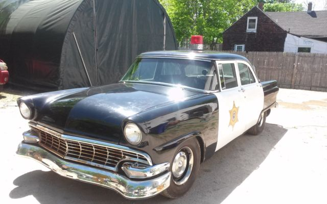 1956 ford fairlane hot rod 4 door police car with 429 c i for 1956 ford fairlane 4 door