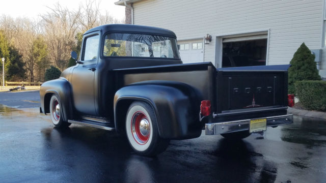 1956 ford pickup f100 big window air ride f 100 antique for 1956 ford f100 big window truck for sale