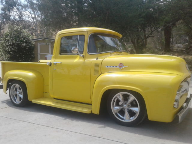 1956 ford rust free ca truck fresh motor od trans a c pdb for Ford truck motors for sale