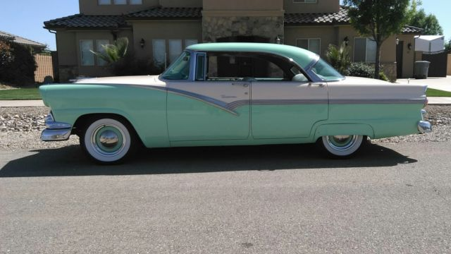 1956 ford victoria 4 dr hardtop for sale ford fairlane for 1956 ford fairlane 4 door hardtop