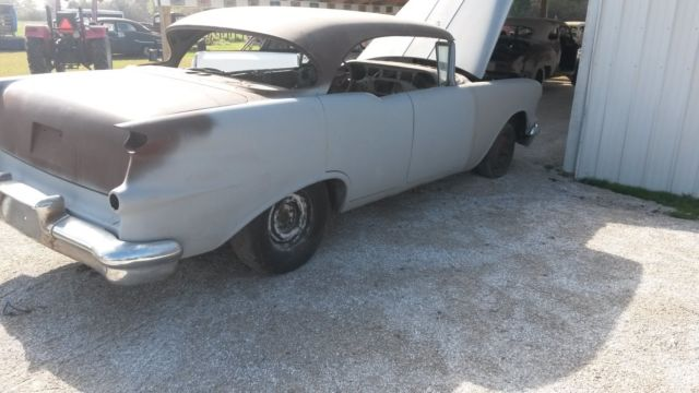 1956 Oldsmobile and 1955 Oldsmobile 4 door hardtops project cars