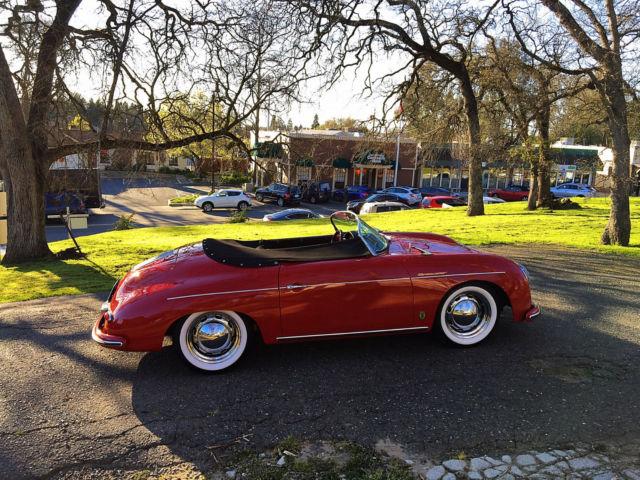 1956 Porsche 356a Fully Electric Conversion Vintage