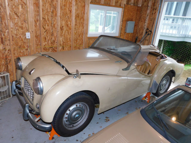 1956 Triumph Tr3 Small Mouth Older Restoration Very Good Cond