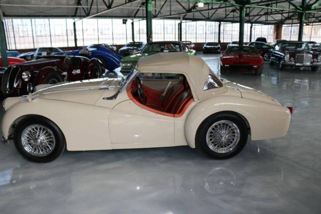 1956 Triumph Tr3 Small Mouth Roadster Old Custom Restoration For