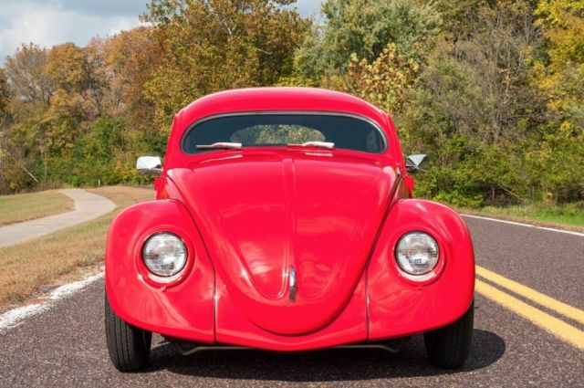 1956 Volkswagen Custom Beetle Supercharged, Chopped Oval Window, Custom Car!!! for sale ...