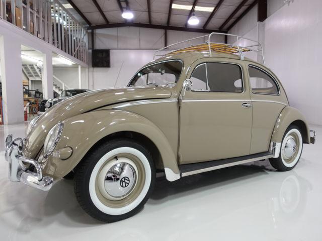 1956 Volkswagen Type 1 Oval Window Beetle California