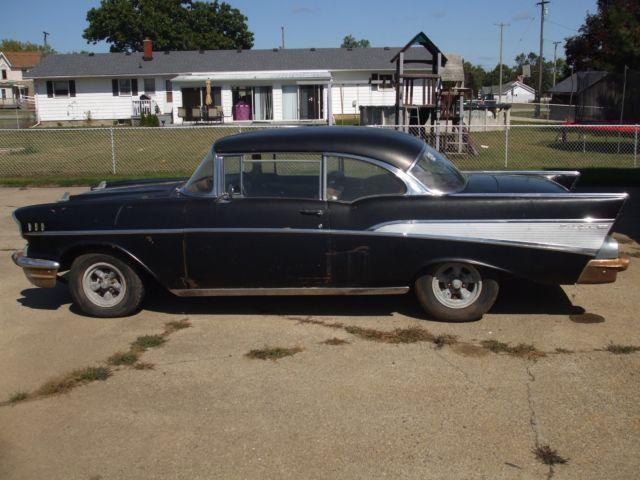 1957 57 barn find chevrolet chevy belair 2 door hardtop for 1957 chevy bel air 4 door hardtop for sale