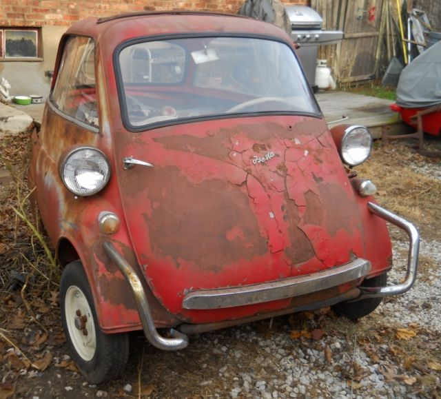 1957 bmw isetta 300 restoration project barn find microcar bubble car for sale bmw other 1957. Black Bedroom Furniture Sets. Home Design Ideas