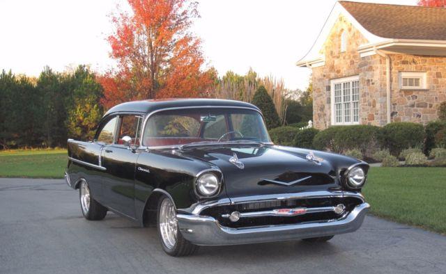 1957 CHEV 150 RESTOMOD, ZZ-430, Richmond 6-spd OD, Ford 9 ...