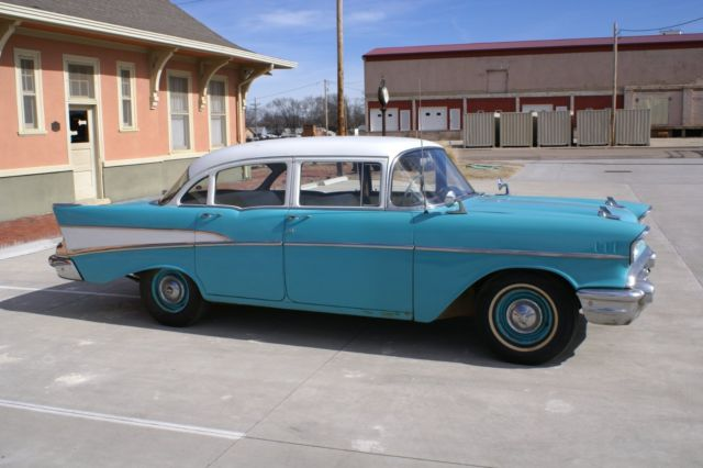 1957 chevrolet bel air 4 door for sale chevrolet bel air for 1957 chevy 4 door sedan