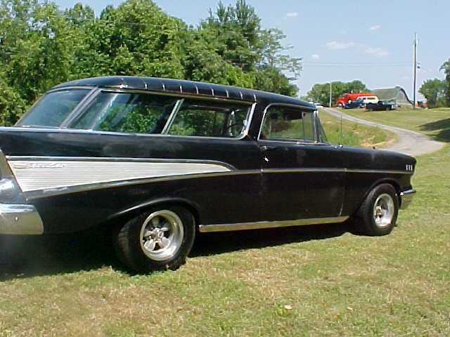 1957 chevrolet bel air nomad wagon 4 door 4 6l for sale for 1957 chevy 4 door wagon for sale