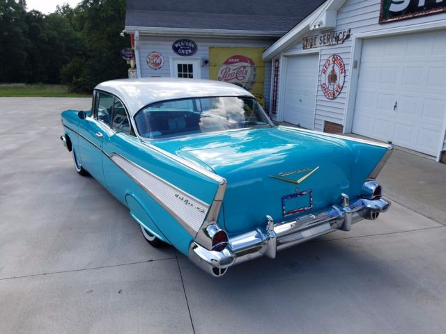 1957 chevrolet belair 2 door hardtop tropical turquoise chevy 55 56 57 58 impala for sale. Black Bedroom Furniture Sets. Home Design Ideas