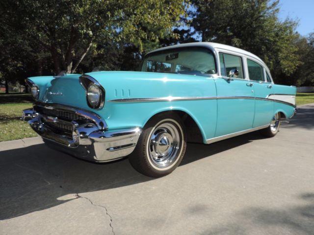 1957 chevrolet chevy 210 4 door fully restored 94k miles for 1957 chevy 210 4 door