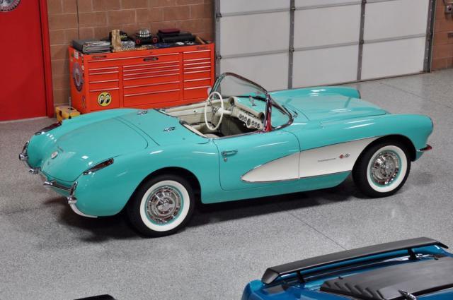 1957 chevrolet corvette 283 283 fuelie convertible frame off restoration for sale chevrolet. Black Bedroom Furniture Sets. Home Design Ideas