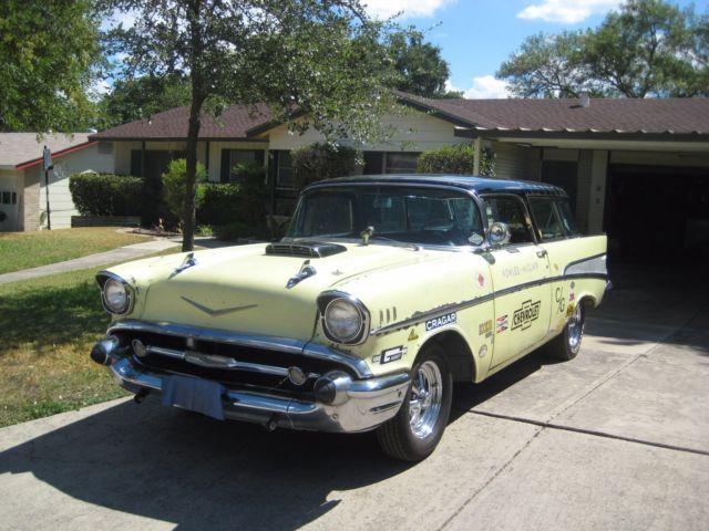1957 Chevrolet Nomad Bel Air Gasser For Sale Chevrolet
