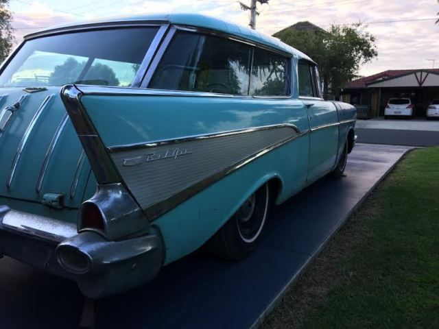 1957 chevrolet nomad wagon 2 door 4 6l low reserve for for 1957 chevy 4 door wagon for sale