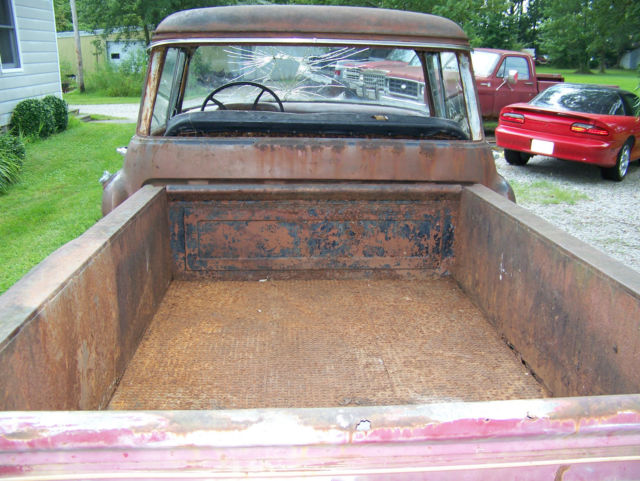 1957 chevrolet rare big window short bed pickup truck rat for 1957 chevy big window truck for sale