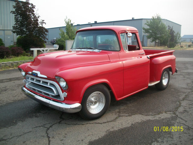 1957 chevy 1 2 ton step side truck for sale chevrolet other pickups 1957 for sale in ceder. Black Bedroom Furniture Sets. Home Design Ideas